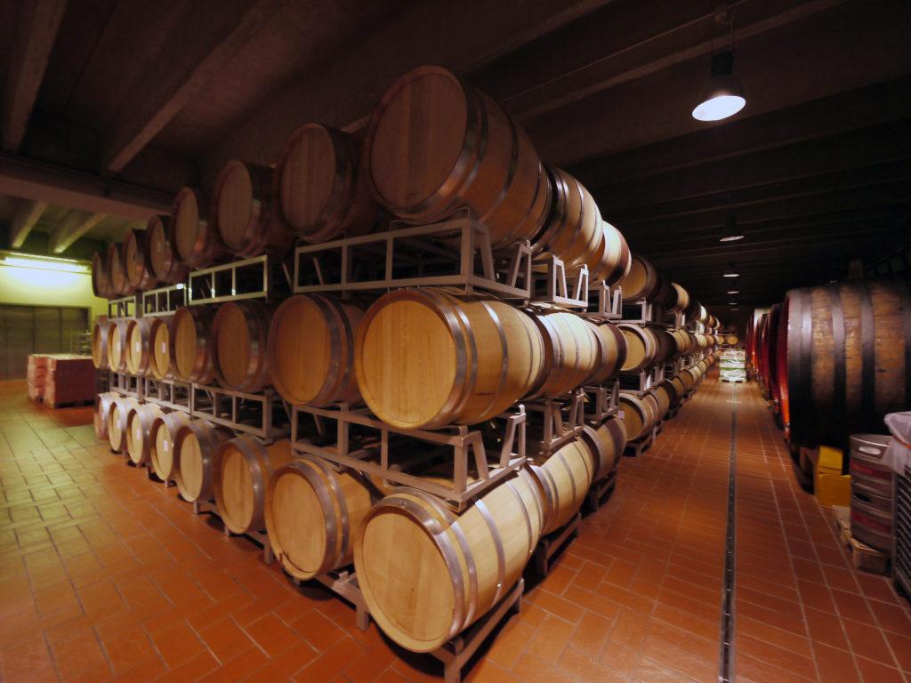 Houten wijnvaten